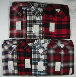 Croft & Barrow Men's EXTRA SOFT Cotton Flannel Shirt HEAT RETENTION - XL & XXL