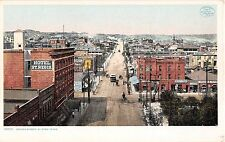 1907 Bird's Eye View Stores Oregon St. El Paso TX post card