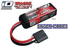 Traxxas 2823x 25C 11.1V 3S 3-Cell 1400mah Lipo Battery TRA 1/16 w ID TRA2823X HH