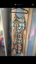 Long Patterned H&M Conscious Dress