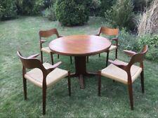 Teak-Holz Ess-Tisch Møller Danish Dänisch Mid-Century 60er Möller Stuhl Chair