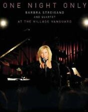 BARBRA STREISAND Live At The Village Vanguard One Night Only DVD NEW NTSC R0