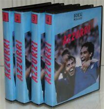 8 VHS=AZZURRI=STORIA MONDIALI=B.CHARLTON=LEV JASCIN=MICHEL PLATINI=ITALIA