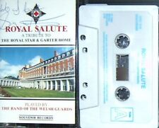 ROYAL SALUTE BAND  WELSH GUARDS STAR & GARTER CASSETTE ALBUM MILITARY