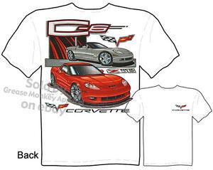 C-6 Corvette C6 Z06 T shirt, Corvette Tshirt, Chevy Vette Tee, Sz M L XL 2XL 3XL