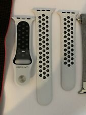White/Black Nike+42mm Band for Apple Watch