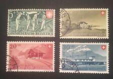 Schweiz Pro Patria 1947 Mi-Nr. 481-83 gestempelt