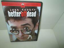 Better Off Dead 1985 Comedy dvd John Cusack Diane Franklin Kim Darby Mint