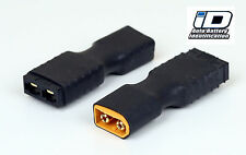 2x Traxxas iD Connector to XT60 Adapter for Maxx Revo Spartan Car Boat Truck
