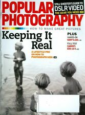2012 Popular Photography Magazine: Photograph Kids - Keeping it Real/DSLR Video