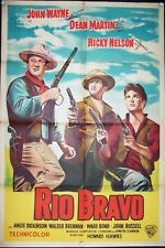 Howard Hawks' Rio Bravo, John Wayne, Dean Martin,1959, #10365
