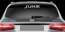Rear Window Sticker fits Nissan Juke Vinyl Decal Emblem Car Logo RW121