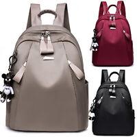Women Leather Backpack Schoolbag Handbag Shoulder Bag Travel Satchel Rucksack