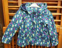 Gorgeous TU Girls 'Cat' Coat/Jacket, Green/Multi,  Age 3-4 Years