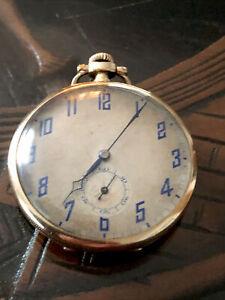 Cyma -Tavannes Watch Swiss Taschenuhr Double Gold