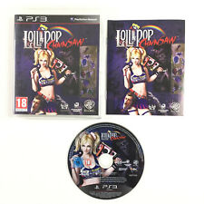 Lollipop ChainSaw PS3 / Jeu Sur Playstation 3 Complet