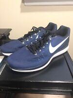Size 18 Nike Air Zoom Pegasus 34 TB University Navy Running Shoes 887009-401