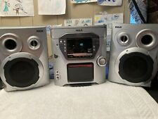 New listing Rca Rs2663 5-Disk Cd Changer Audio System with Mp3, Cassette & Am/Fm Tuner