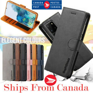 For Samsung Galaxy S20 FE Ultra S20+ Plus Wallet Case Leather Magnet Flip Cover