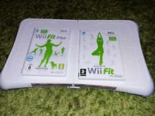 Balance Board WII  + games WII FIT   AND WII FIT PLUS  GREAT CONDITION