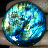 Labradorite Cabochon Gemstone Natural Multi Fire Spectrolite Labradorite RAM006