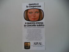 advertising Pubblicità 1982 ARVAL