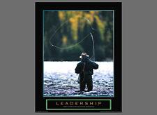 Fly Fishing LEADERSHIP Motivational Inspirational POSTER Print