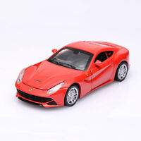 Ferrari F12 Berlinetta Supercar 1:32 Model Car Diecast Toy Vehicle Pull Back Red