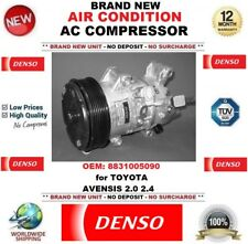 DENSO AIR CONDITIONING AC COMPRESSOR OEM: 8831005090 for TOYOTA AVENSIS 2.0 2.4