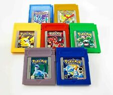 Pokemon GameBoy Color Games Complete Set Renewed *Pick Yours* Fast Shipping