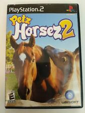 Petz: Horsez 2 (PlayStation 2, Ps2) Tested & Works - Complete - Free Shipping
