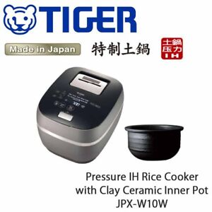 2019 TIGER JAPAN PRESSURE IH RICE COOKER & WARMER JPX-W10W 1.0L(5.5Cups)