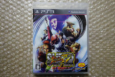 Super Street Fighter IV 4 PS3 Region Free Sony Playstation3 Japan Video Game
