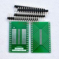 2pcs SO32 SOP32 to DIP 1.27mm 2.54mm Adapter PCB Board Converter +pin header E09
