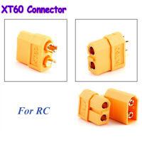 5 Paare Qualität XT60 Male&Female Bullet Connectors Stecker für RC Lipo Batterie