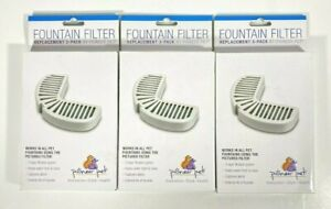 Lot 3 Pioneer Pet Fountain Filters 3 Pack 9 Total Item 3002 Dog Cat Replacement