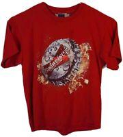 Dale Earnhardt Jr 8 Budweiser NASCAR Chase Authentics Mens XL T-Shirt Vintage