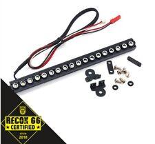 6 inch 1/10 Aluminum White LED Light Bar Black for Crawler Traxxas Hobao HPI