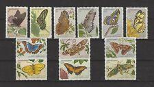 Suriname Scott# 643-54 Mariposas MNH