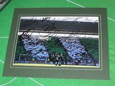 Plymouth Argyle 2016/17 Promotion Squad Signed x 17 & Mounted Stadium Photo