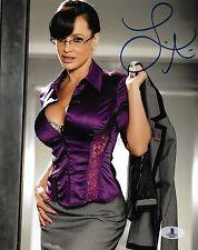 Lisa Ann Signed 8x10 Photo BAS Beckett COA MILF Porn Star Picture Autograph 6265