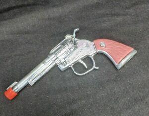 Halco Diecast Pink Handle Toy Gun Orange Plug
