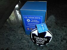 Slavic Treasures Hockey Toronto Maple Leafs.Mouthblown Hand Painted.Nib