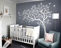 Nursery tree wall sticker set Playroom wall decoration Newborn wall decals 032
