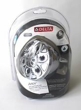 NEW! Chrome Delta 5 Setting Arios Showerhead with H20 Kinetic Technology