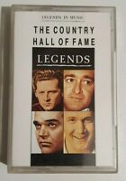 THE COUNTRY HALL OF FAME Legends Music Cassette CLEARANCE SALE