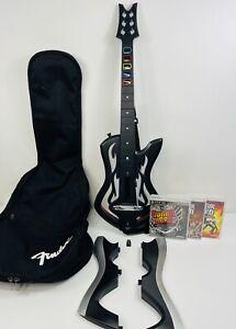 Guitar Hero: Warriors Of Rock PS3 Wireless Guitar w/ Dongle Kiss Attaches Axe
