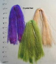 1 Pack (Hank) Crystal Hair>Streamer Hair>Hot UV Colors available>COMBINE SHIP