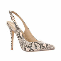Riverberry Women's Lucy Pointed-Toe Sling Back Pump Stiletto Heels