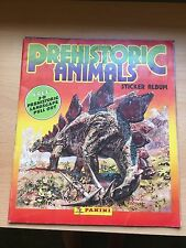 Panini  - Prehistoric Animals Sticker Album 1990 - Complete -1